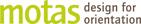 Logo motas - design for orientation